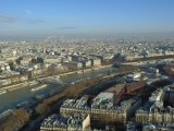 Paris view from top