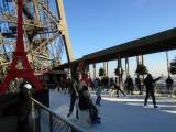 Eiffel skating rink