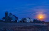 Full Moon Over Pennsylvania Farm