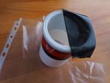 Par-Soleil-Porte-Filtre avec un pot de tartinade sucré...