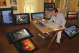 Préparation de l'exposition SAINT-ANTOINE DeVisu. Et élaboration du plan de disposition des oeuvres.