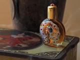 Bouteille de parfum antique / Jeweled bottle perfume vintage collection