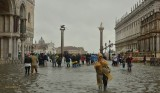 FLOODING IN  MOLO  SAINT  MARK'S SQUARE