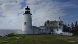 Pemaquid Point Light - Maine  - Alternate view