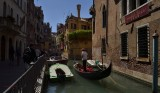 VENICE ITALY/ A VERY POPULAR  TOURIST RIDE IN THE GONDOLE.