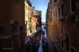 VENICE CANAL FLIRTING WITH REFLECTIVE LIGHT