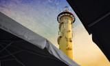 Lighthouse on Donau Insel
