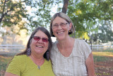 KZFR On-Air Personalities/volunteers Sharon and Terre
