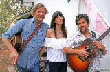 Tim and Nicki Bluhm, KZFR-FM fundraiser at Chapelle de L'Artiste, Paradise, CA Sept. 8, 2013
