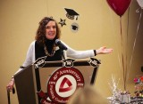 Donna's Graduation, Fielding Graduate Univ., Santa Barbara, CA, Jan. 11, 2014