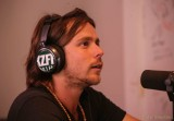 Lukas Nelson on-air at KZFR-FM studio, Chico, CA May 30, 2014