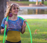 'It's a Friday Hoop Jam,' One Mile at Bidwell Park, Chico, California, Sept. 19, 2014