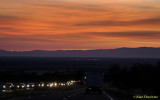 Sunset, Skyway between Paradise & Chico, November 3, 2014
