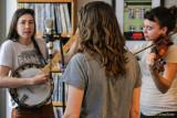 Dani and Jacqui Aubert and Sara Wilbur at KZFR