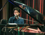 Jackie Greene on the Chico Women's Club's antique Steinway