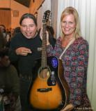 Guitar raffle winners Tony & Michaell