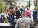 Heroes Rally with Jackie Greene, September 11, 2015, State Capitol, Sacramento,Calif.