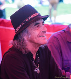 Pete Sears - signing Moonalice posters