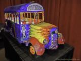Furthuring' bus on display
