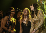 Grahame Lesh, Elliot Peck, Dave Mulligan, Erika Tietjen, and Nicki Bluhm during All You Need is Love