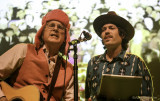 Roger McNamee and Ben Morrison during All You Need is Love