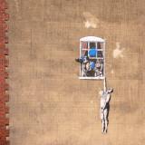 Street Art - The genuine Banksy.