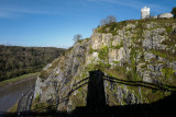 Clifton Suspension Bridge Shadow & Clifton Observatory