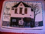 pat's 75th birthday cake