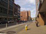 liberty avenue / pittsburgh / strip district