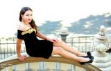 Photoshoot at Leland Stanford Mansion with Erika Vaca Miss Sacramento Latina 2015