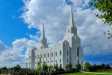 Brigham City Utah Temple Construction & Completed Shots