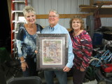 Raymond and the Solomons with Ragsdale print