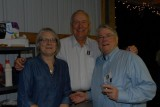 Gayle and Ramond Spence with Phil Aquino