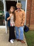 Jake and Chick at 70's day at FACS