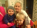 Please note,this is a pic of about 1/3 of Leeba's grandchildren