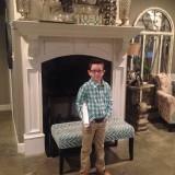 #5 Grandson (5th. born) Scooter, J. Thomas Pepper, 2nd.Grd.@ Caldwell Elem., Benton, AR...2015