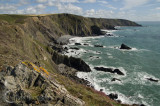 From Higher to Lower Sharpnose Point in N Cornwall