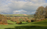 Killerton view over Caseberry Downs - Mid Devon UK