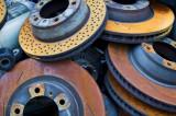 Old car brake disks