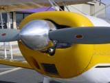 propeller of N3808F Biplane Airplane