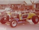 r to l Mr Roberts, Bill Hart, John Sandy, unknown, and Jeff Knapp