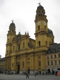 Munich. Theatinerkirche