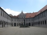 Munich. The Residenz. Brunnenhof