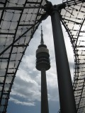 Munich. Olympiaturm (Olympic Tower)