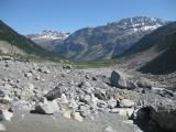 Walk to the Morteratsch Glacier