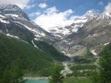 Palü Glacier seen from Alp Grüm