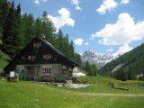 Swiss National Park. Varusch Hut