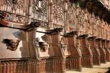 Nájera. Monasterio de Santa María la Real-Silleria del Coro