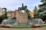 Logroño. Paseo del Príncipe de Vergara (El Espolón)
