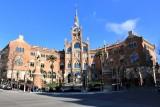 Antic Hospital de Sant Pau. Pavelló d´Administració